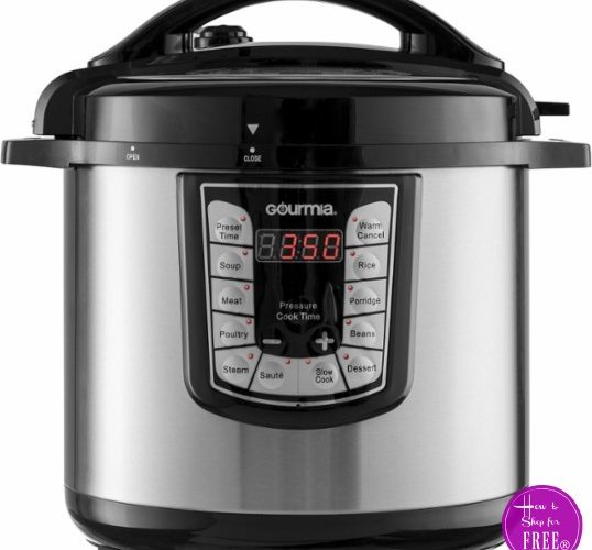 8QT Pressure Cooker for $65 Shipped ~50% OFF Today Only!