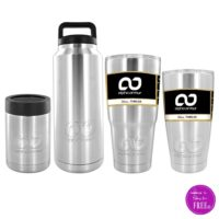 Stainless Steel Mugs as low as $12!! Nearly HALF OFF