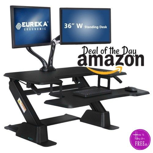 52% off Eureka Ergonomic Standing Desk ~Deal of the Day