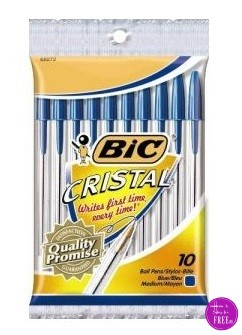 BIC Pens for just CHANGE!
