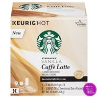 Starbucks K-Cups (10 ct) Only $4.45 at Dollar General
