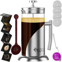 French Press Bundle 61% OFF! (for Coffee/Tea)