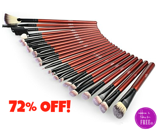24pc. Makeup Brushes $5.59 Today Only!!