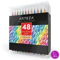 76% OFF Arteza Real Brush Pens (48ct) on Lightning Deal!