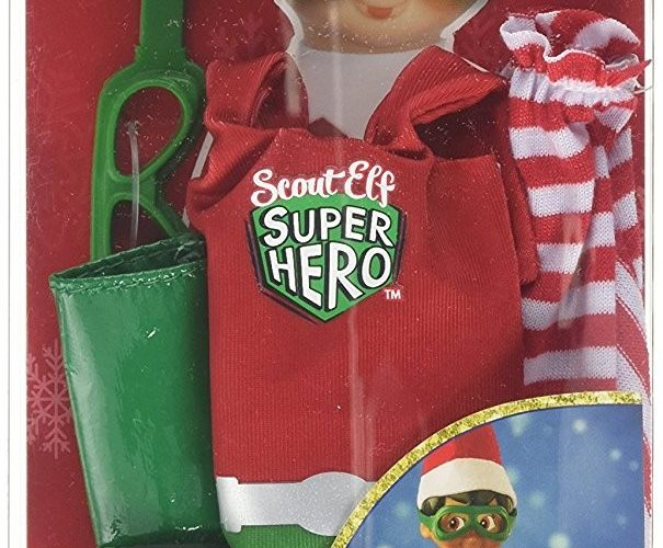 "Elf on the Shelf ""Claus Couture"" Superhero Outfit!!"