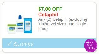 **HOT**NEW Printable Coupon** $7.00/2 Cetaphil