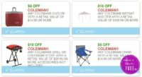 **NEW Printable Coupons** 4 RARE Coleman Coupons Pre-Clipped for You!