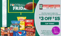 $3/$15 Family Dollar Smart Coupon ~Valid Today ONLY! (9/8)