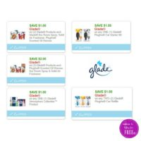 **NEW Printable Coupons** 5 Glade Coupons Pre-Clipped for You!