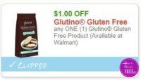 **NEW Printable Coupon** $1.00/1 Glutino Gluten Free Product