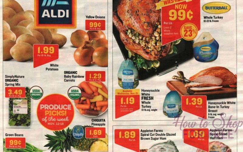ALDI Shoppers.. We Have Sunday's FULL Ad Scan!