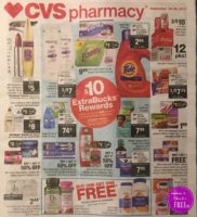 It's early!!   CVS Ad Scan. 9/24 – 9/30
