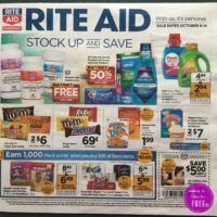 Rite Aid Ad scan for October.  10/1 -10/7