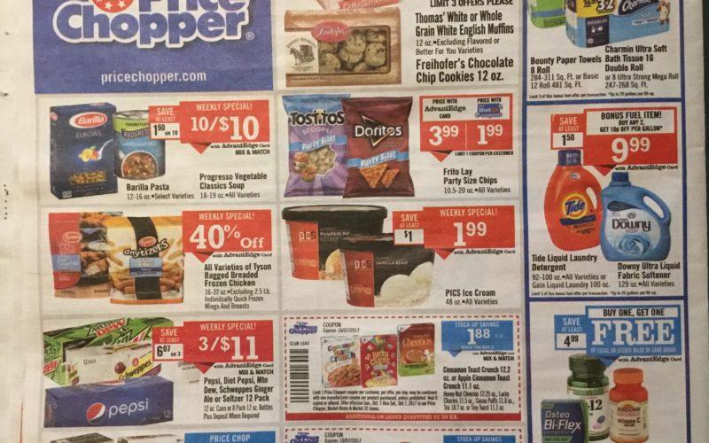 Price Chopper Ad Scan 10/1 – 10/8