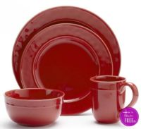 Food Network™ Fontina 4-pc. Place Setting As Low As $7.89 Shipped (Regular $29.99) ~ Good Through 09/24