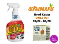 Krud Kutter ONLY 99¢ at Shaw's 09/22 ~ 09/28!