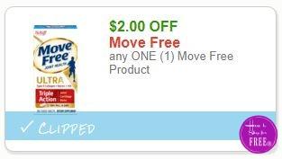 **NEW Printable Coupon** $2.00/1 Move Free Product
