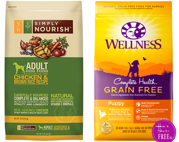 FREE Simply Nourish or Wellness Pet Food!!