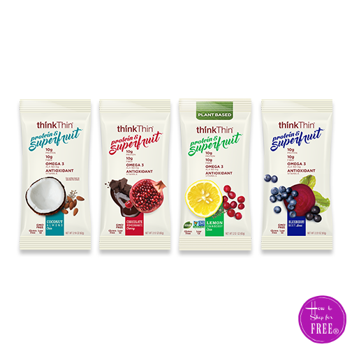 BOGO thinkThin Protein & Superfruit Bars (Max. Value: $2.50) ~HOT Coupon!