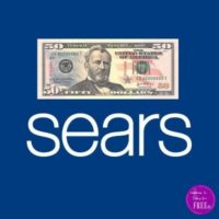 $50/$50 Sears Offer!! HOT Offer for SYW Members!