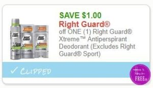 photo about Right Guard Printable Coupon identify Contemporary Printable Coupon** $1.00/1 Specifically Protect Xtreme