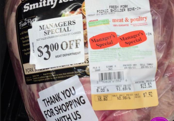 Pork Shoulder Stick Up Price!