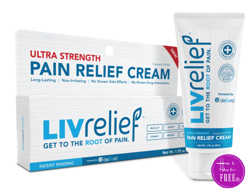 FREE Sample of LIVrelief