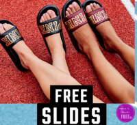 FREE Victoria's Secret Pink Sandals  with purchase