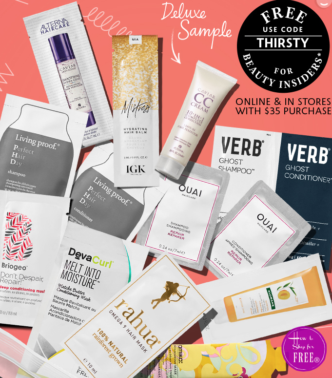 Get Tons of FREE Samples from Sephora   How to Shop For Free