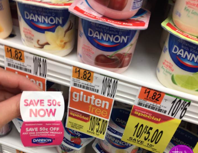 FREE Dannon Yogurt!
