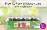 FREE 12 Pack of Mason Jars at Target !!