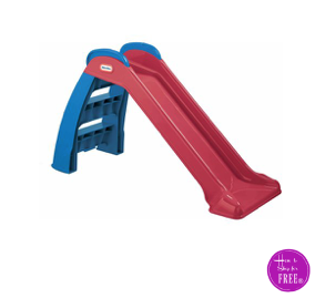 RUN, then slide!!   Little Tikes Slide $9.00