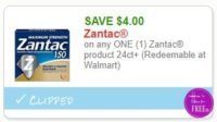 **NEW Printable Coupon** $4.00/1 Zantac product 24ct+