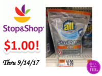 All Pacs only $1.00 at Stop & Shop!
