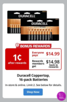 Grab Duracell Batteries for ONE PENNY! (One Week Only!)