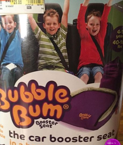 Bubblebum Booster Seat for $1.00?!?! WOWZER