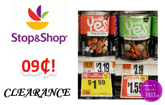 Campbell Well Yes! Soup ONLY $.09 at Stop & Shop! ~ Great donation item!