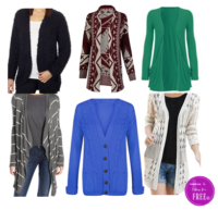 Cozy up to Fall with these Cardigans! All less than $10!