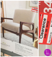 Threshold Accent Chair 77% OFF!!!!