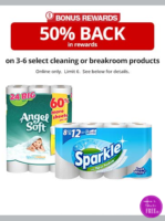 50% BACK~ Up to 6 Cleaning/Breakroom Products
