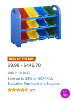 Up to 25% off ECR4Kids Education Furniture/Supplies!