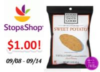 Food Should Taste Good Chips only $1.00 at Stop & Shop!