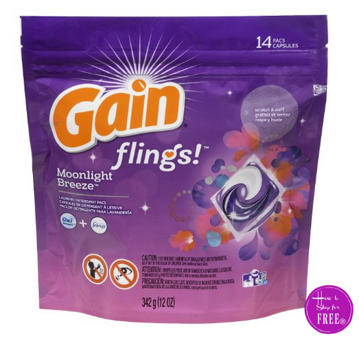 $1.29 Gain Flings (14ct) **3 DAYS ONLY!!**