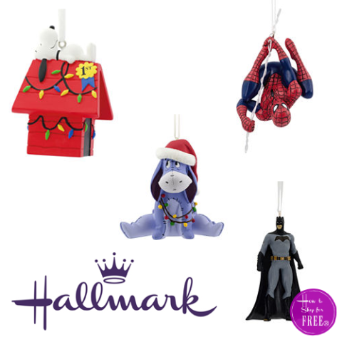 Hallmark Christmas Ornaments.6 Disney Ornaments How To Shop For Free With Kathy Spencer