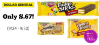 Keebler Cookies Only $.67 at Dollar General