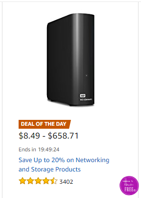 Up to 20% OFF Networking/Storage Products ~Deal of the Day