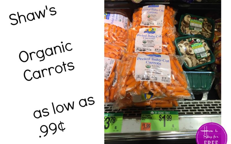 Shaw's MyMixx O Organics Deals