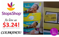 Pampers Jumbo Packs as low as $3.24 at Stop & Shop! ~CLEARANCE FIND