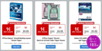01¢ Paper Ream Deals ~ 3 NEW Offers for this week!!