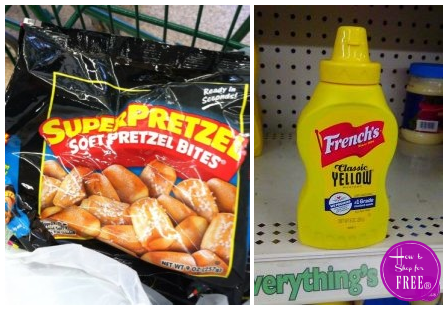 Grab Pretzels AND Mustard for only $0.25!!!